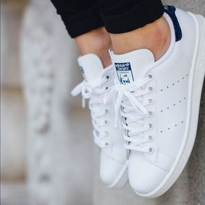 Adidas Stan Smith Originals Blue Sneakers Shoes